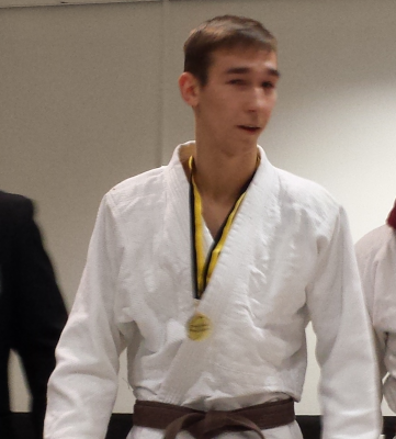 Nikolajs Nikolajevs - Bradford University Judo Committe Media Officer 2013