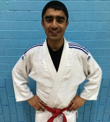 Asim Hussain - Bradford University Judo Committe Treasurer 2014