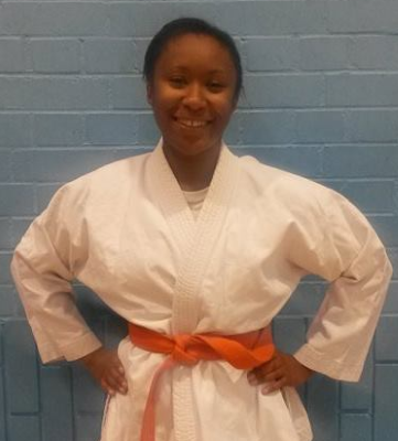 Rhea Brown - Bradford University Judo Committee Secretary 2014
