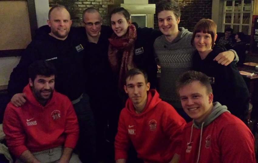 After Karina Bryant training party with Sheffield Uni Judo Club