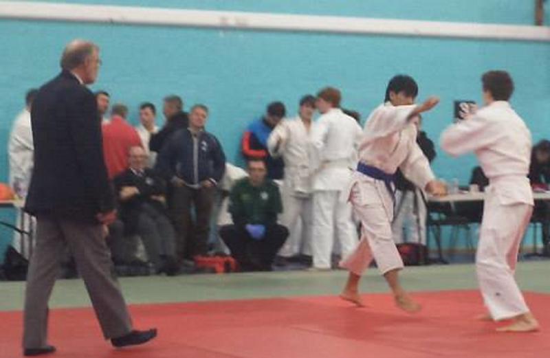 Sheffield University Kyu Grade Tournament - Proof that Oscar was their