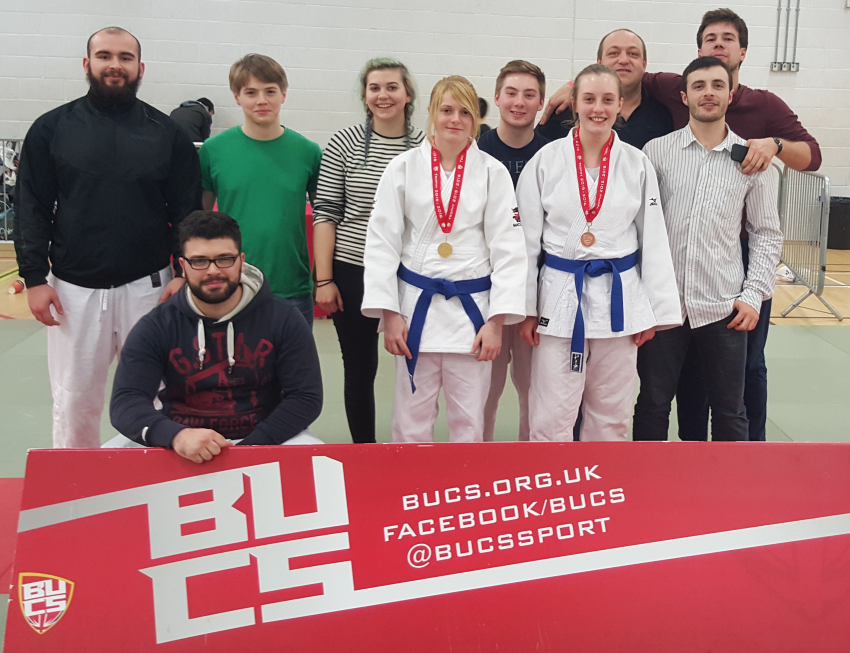 Leeds & Bradford Judo clubs support each other at BUCS
